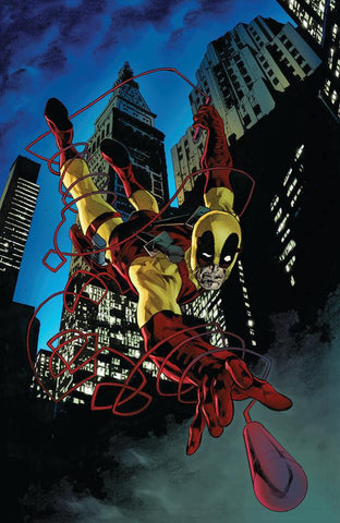 DAREDEVIL #602 PERKINS DEADPOOL VIRGIN VARIANT LIMITED TO 1000