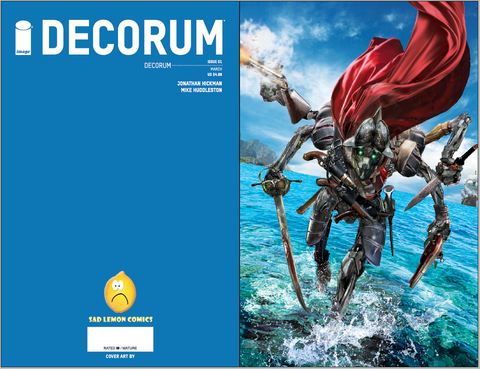 DECORUM #1 JOHN GALLAGHER VIRGIN VARIANT LIMITED TO 500