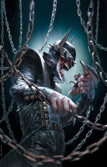 DARK NIGHTS METAL #5 GABRIELE DELL'OTTO BATMAN WHO LAUGHS CONVENTION VARIANT LIMITED TO 1000 COPIES