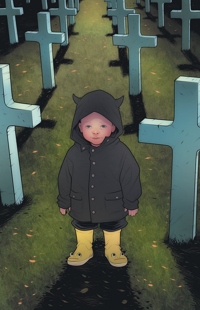 BABYTEETH #3 ELIZABETH TORQUE THE OMEN HOMAGE TRADE DRESS VARIANT
