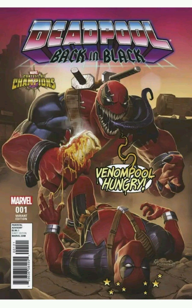 DEADPOOL: BACK IN BLACK #1 1:10 CONTEST OF CHAMPIONS VARIANT - Sad Lemon Comics
