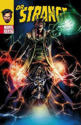 DOCTOR STRANGE #381 LENTICULAR LEGACY HOMAGE BY MIKE DEODATO JR.