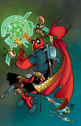 DOCTOR STRANGE #390 FERRY DEADPOOL VIRGIN VARIANT LIMITED TO 1000