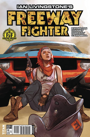 17/05/2017IAN LIVINGSTONES FREEWAY FIGHTER #1 (OF 4) CVR B OLIVER - Sad Lemon Comics