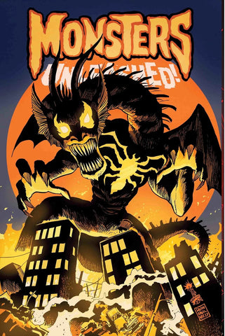 09/2017 MONSTERS UNLEASHED #6 VENOMIZED FIN FANG FOOM VARIANT COVER BY FRANCESCO FRANCAVILLA