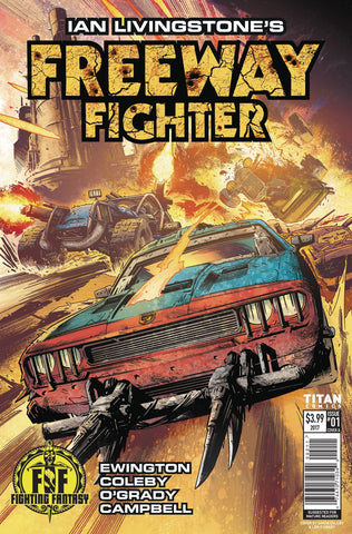 17/05/2017 IAN LIVINGSTONES FREEWAY FIGHTER #1 (OF 4) CVR A COLEBY - Sad Lemon Comics