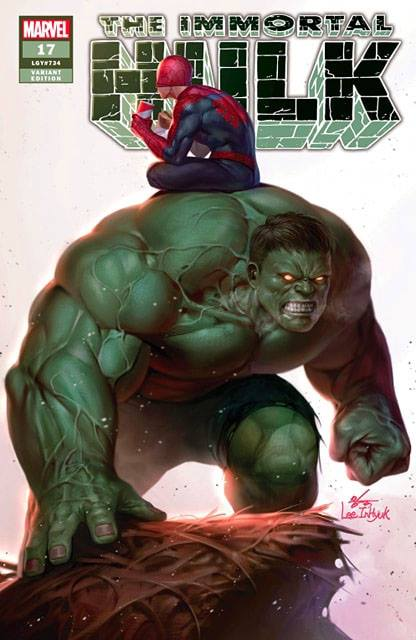 IMMORTAL HULK #17 IN HYUK LEE TRADE DRESS LIMITED TO 3000