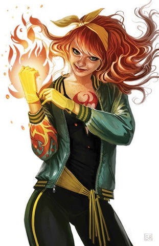 07/06/2017 IRON FIST #4 STEPHANIE HANS MARY JANE VARIANT - Sad Lemon Comics