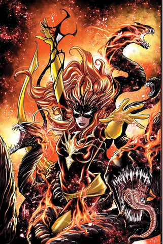 09/2017 JEAN GREY #7 VENOMIZED PHOENIX FORCE VARIANT COVER MARCO CHECCHETTO