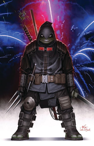TMNT LAST RONIN #1 INHYUK LEE INDEPENDENCE DAY VARIANT LIMITED TO 700