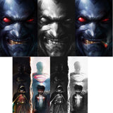 JUSTICE LEAGUE OF AMERICA #1 3 COVER SET & SUPER SONS #1 COLOUR AND BW FRANCESCO MATTINA VARIANTS - Sad Lemon Comics