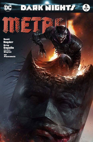 DARK NIGHTS METAL #5 FRANCESCO MATTINA TRADEVARIANT LIMITED TO 3000