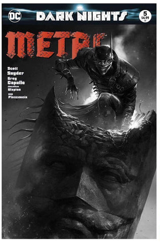 DARK NIGHTS METAL #5 FRANCESCO MATTINA B&W VARIANT LIMITED TO 600 GUARANTEED CGC 9.8 PREORDER