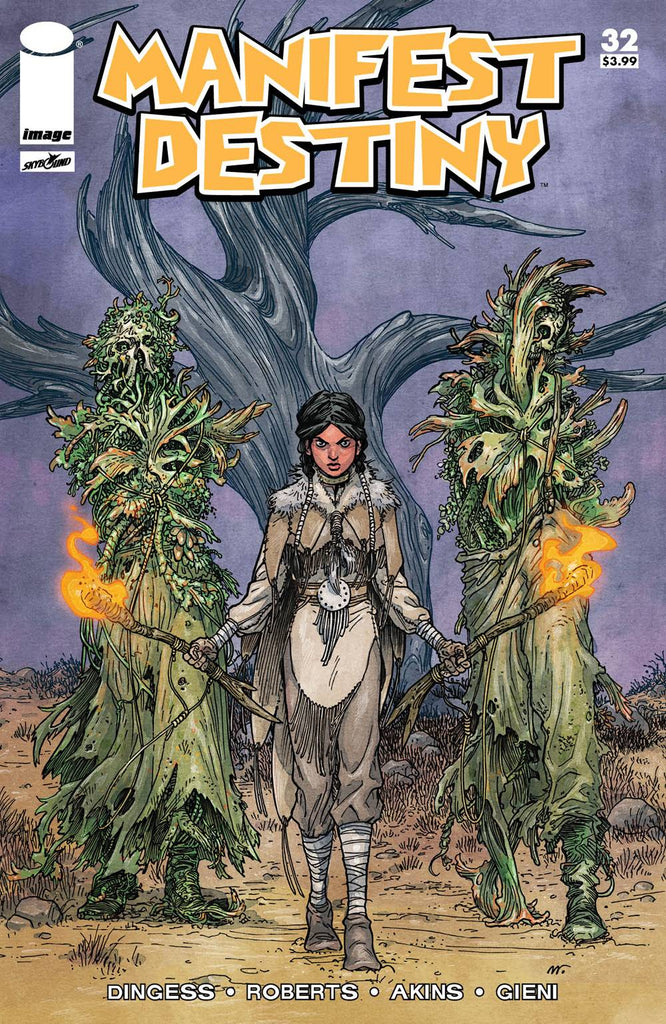 MANIFEST DESTINY #32 CVR B WALKING DEAD #19 TRIBUTE VAR (MR)