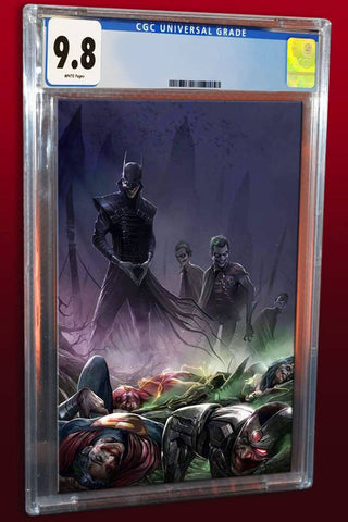 DARK NIGHTS METAL #4 FRANCESCO MATTINA VIRGIN VARIANT LIMITED TO 600 CGC 9.8 PREORDER