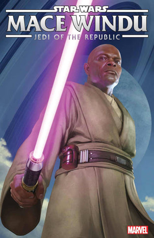 STAR WARS JEDI REPUBLIC MACE WINDU #1 1:10 RAHZZAH VARIANT