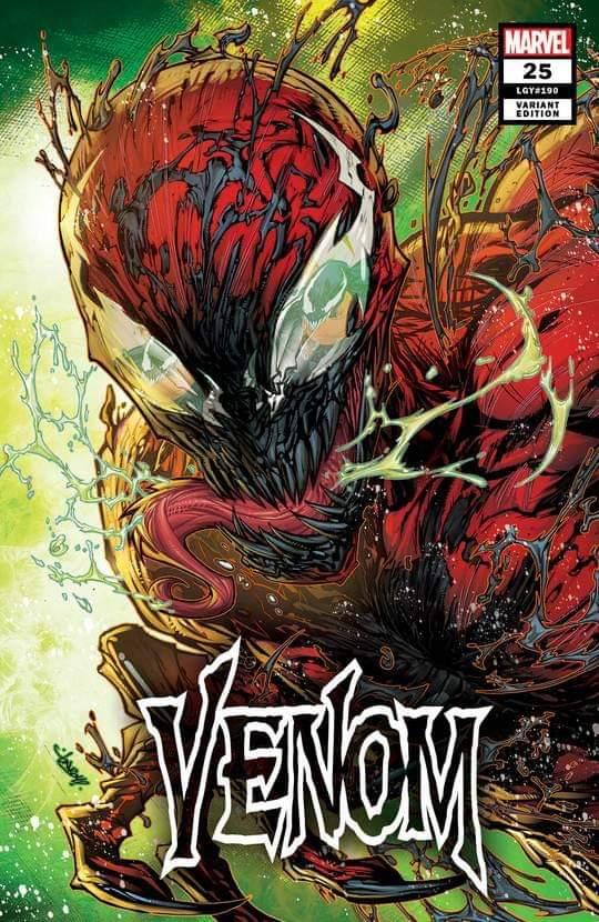 VENOM #25 JON BOY MEYERS TRADE DRESS VARIANT