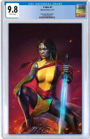 X-MEN #1 SHANNON MAER VIRGIN VARIANT LIMITED TO 600 COPIES CGC 9.8 PREORDER