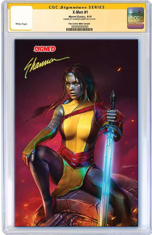 X-MEN #1 SHANNON MAER VIRGIN VARIANT LIMITED TO 600 COPIES CGC SS PREORDER