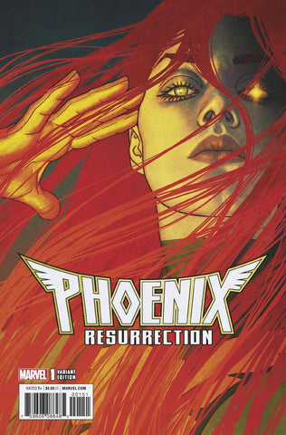 PHOENIX RESURRECTION RETURN JEAN GREY #1 (OF 5) 1:25 JENNY FRISSON VARIANT