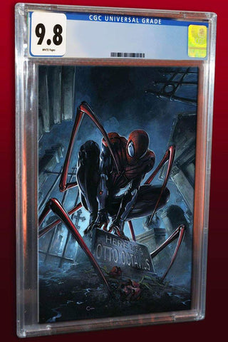 SUPERIOR SPIDER-MAN #1 CLAYTON CRAIN VIRGIN VARIANT LIMITED TO 750 CGC 9.8 PREORDER