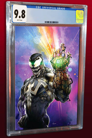VENOM #7 CLAYTON CRAIN VIRGIN VARIANT LIMITED TO 1000 CGC 9.8 PREORDER