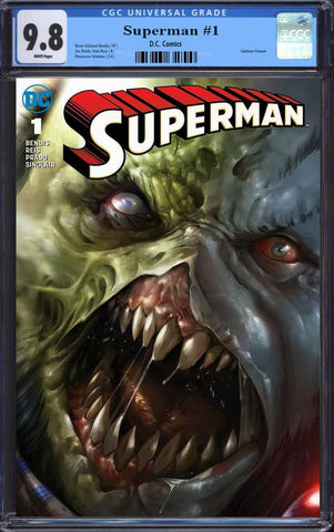 SUPERMAN #1 FRANCESCO MATTINA ROGOL ZAAR FULL TRADE DRESS VARIANT LIMITED TO 3000 CGC 9.8 PREORDER