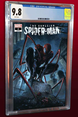 SUPERIOR SPIDER-MAN #1 CLAYTON CRAIN TRADE DRESS VARIANT LIMITED TO 1500 CGC 9.8 PREORDER
