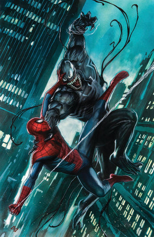 06/12/2017 AMAZING SPIDER-MAN/VENOM VENOM INC ALPHA #1 COVER B VIRGIN VARIANT SIGNED BY ADI GRANOV WITH COA LIMITED TO 600