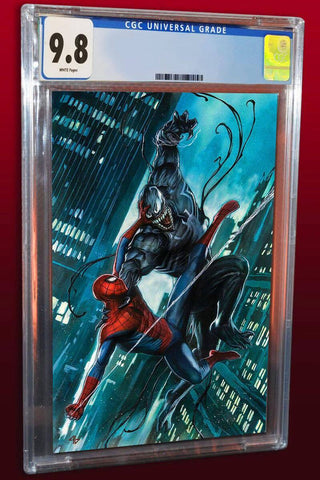 06/12/2017 AMAZING SPIDER-MAN/VENOM VENOM INC ALPHA #1 COVER B VIRGIN VARIANT LIMITED TO 600 GUARANTEED CGC 9.8