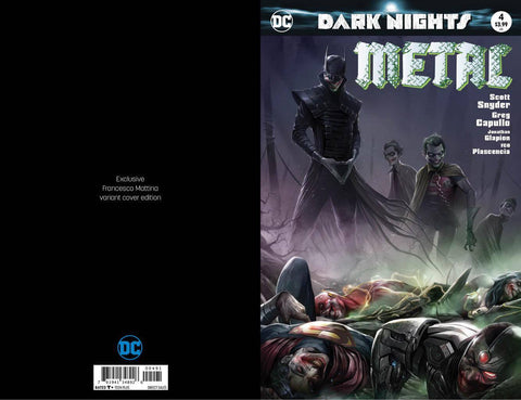 DARK NIGHTS METAL #4 FRANCESCO MATTINA TRADE VARIANT LIMITED TO 3000 COPIES