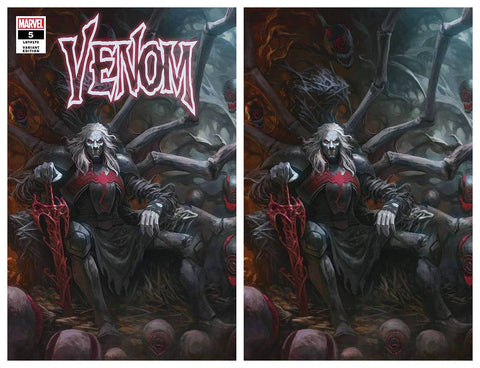 VENOM #5 SKAN SRISUWAN VARIANT '1ST COVER APP OF KNULL' TRADE/VIRGIN SET LIMITED TO 1000 SETS