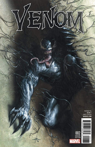 NOW VENOM #2 GABRIELE DELL'OTTO VARIANT COLOR - Sad Lemon Comics