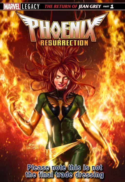 PHOENIX RESURRECTION RETURN OF JEAN GREY #1 EXCLUSIVE IN HYUK LEE TRADE DRESS VARIANT LIMITED TO 3000