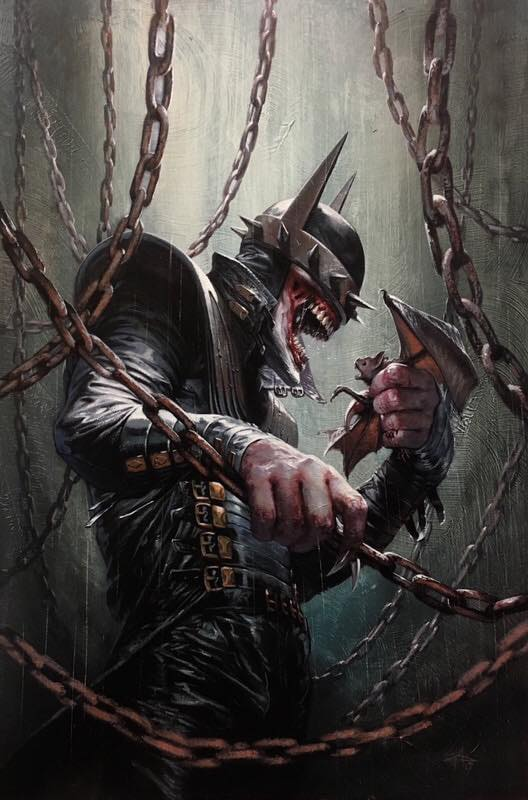 DARK NIGHTS METAL #5 GABRIELE DELL'OTTO BATMAN WHO LAUGHS VIRGIN VARIANT LIMITED TO 1000 COPIES