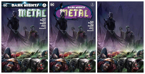 DARK NIGHTS METAL #4 FRANCESCO MATTINA VARIANT SET LIMITED TO 600