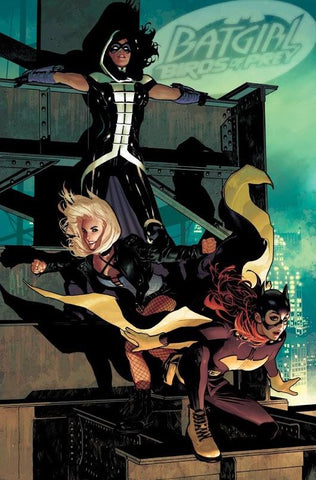 BATGIRL AND THE BIRDS OF PREY #20 ADAM HUGHES  VAR ED