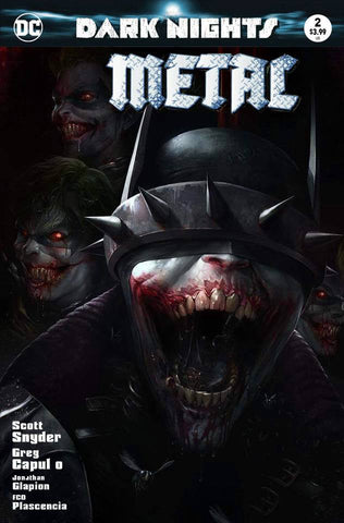 DARK NIGHTS METAL #2 FRANCESCO MATTINA TRADE DRESS VARIANT LIMITED TO 3000 WORLDWIDE