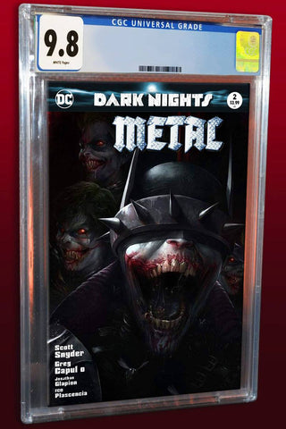 DARK NIGHTS METAL #2 FRANCESCO MATTINA TRADE DRESS VARIANT LIMITED TO 3000 WORLDWIDE CGC 9.8 PREORDER