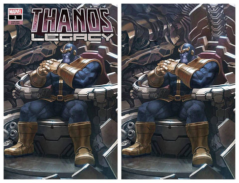 THANOS LEGACY #1 SKAN SRISUWAN TRADE/VIRGIN SET VARIANT LIMITED TO 600 SETS