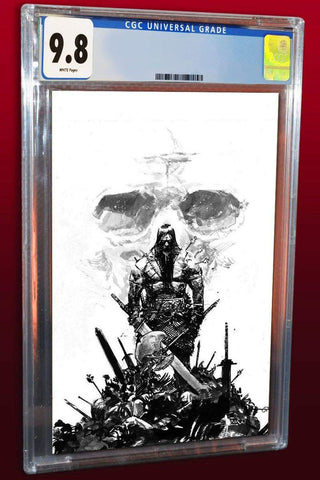 CONAN THE BARBARIAN #1 GERARDO ZAFFINO INKED VIRGIN VARIANT LIMITED TO 500 CGC 9.8 PREORDER