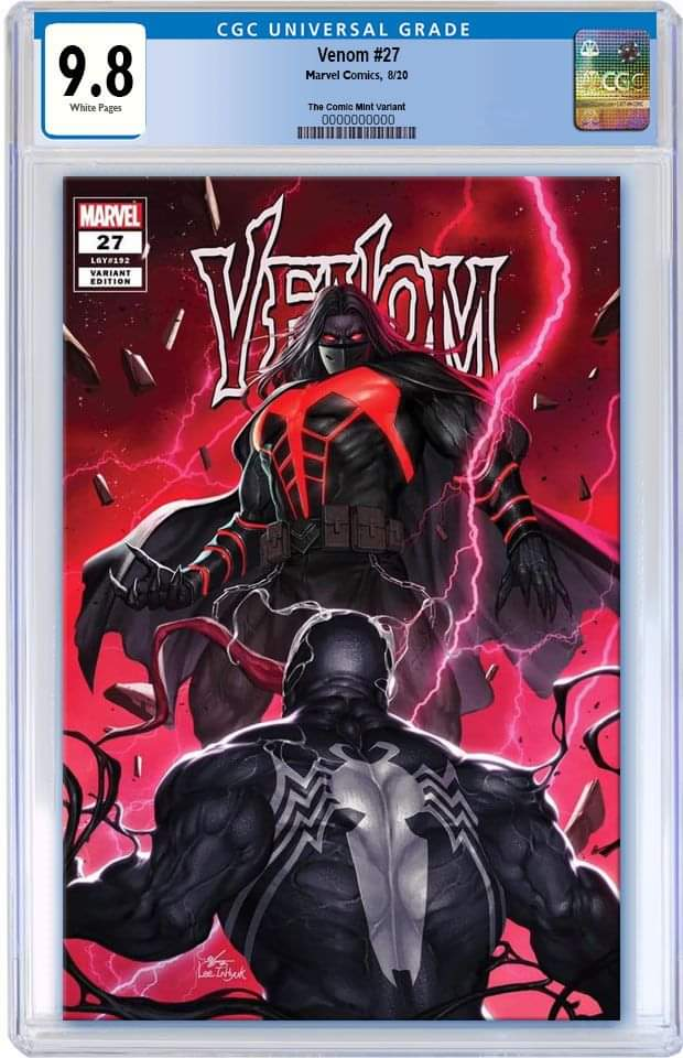 VENOM #27 INHYUK LEE CODEX TRADE DRESS LIMITED TO 3000 CGC 9.8