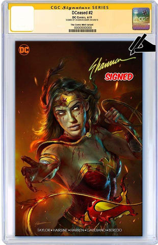 DCEASED #2 SHANNON MAER MINIMAL TRADE DRESS VARIANT LIMITED TO 1000 CGC SS PREORDER