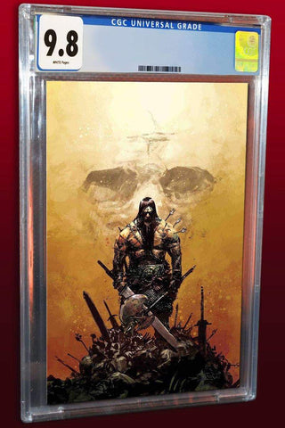 CONAN THE BARBARIAN #1 GERARDO ZAFFINO COLOUR VIRGIN VARIANT LIMITED TO 1000 CGC 9.8 PREORDER