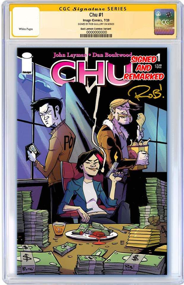 CHU #1 ROB GUILLORY VARIANT LIMITED TO 500 COPIES CGC REMARK PREORDER