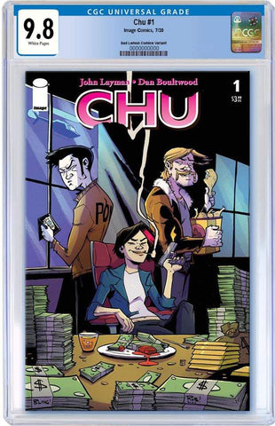 CHU #1 ROB GUILLORY VARIANT LIMITED TO 500 COPIES CGC 9.8 PREORDER