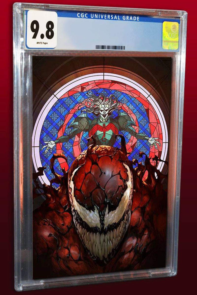 WEB OF VENOM CULT OF CARNAGE #1 SKAN SRISUWAN VIRGIN VARIANT LIMITED TO 800 CGC 9.8 PREORDER