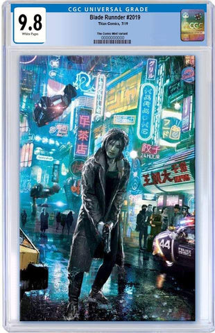 BLADE RUNNER 2019 #1 JOHN GALLAGHER VIRGIN VARIANT LIMITED TO 500 COPIES CGC 9.8 PREORDER