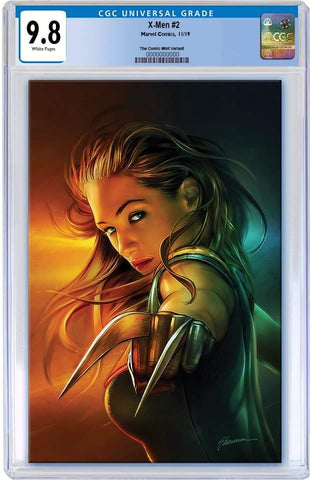 X-MEN #2 SHANNON MAER X-23 VIRGIN VARIANT LIMITED TO 600 CGC 9.8 PREORDER