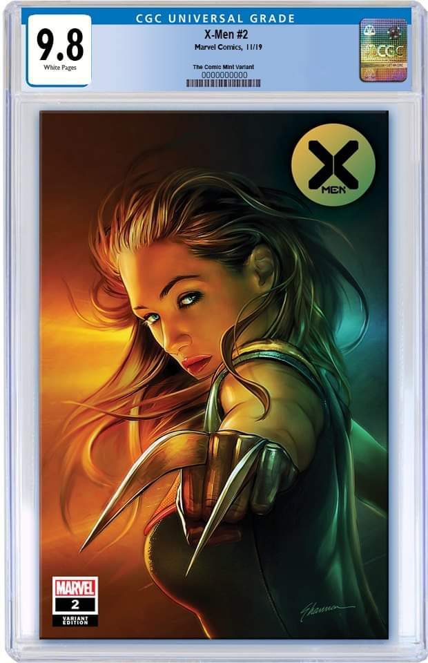 X-MEN #2 SHANNON MAER X-23 TRADE DRESS VARIANT LIMITED TO 3000 CGC 9.8 PREORDER